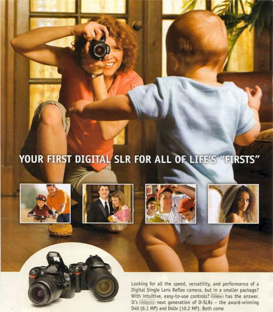 Digital Camera Ad