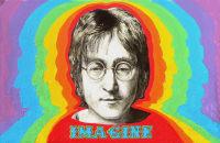John Lennon, by Stuart Hampton, April 21, 2010.