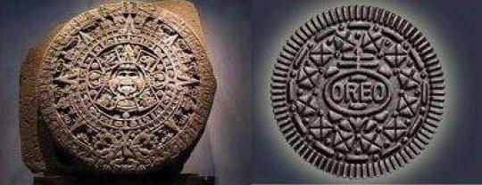 Mayan Calendar, Oreo Cookie