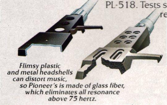 Pioneer PL-518 Headshell