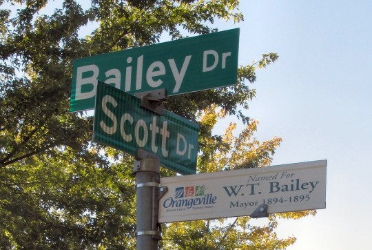 SIgn - Bailey Drive