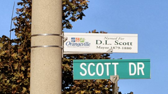 Sign - Scott Drive