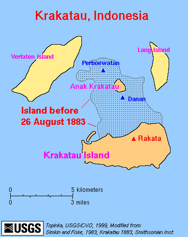 Krakatoa Map