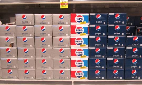 Pepsi Display