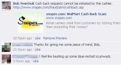 Wal-Mart Responses