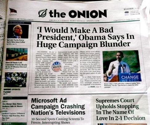 Onion Obama