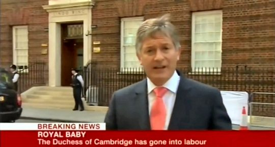 Royal Baby Reporter