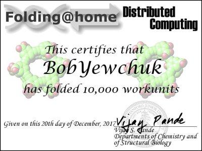 Certificate - 10,000 WU