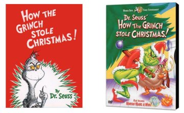 Grinch - Book, DVD