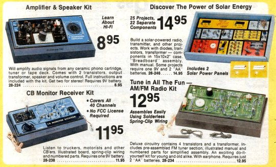 Radio Shack Catalogue - Kits