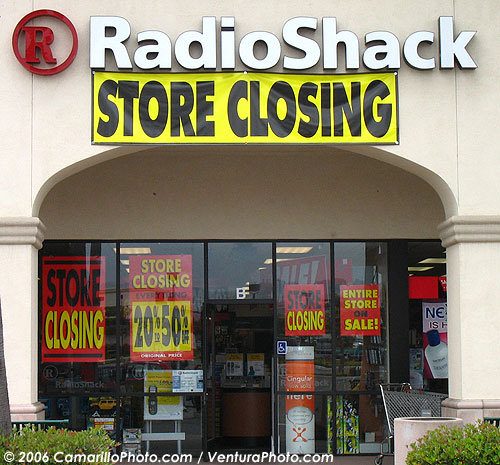 Radio Shack Store Closing