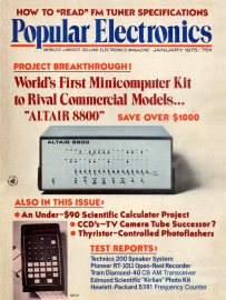 Popular Electronics Altair Cover