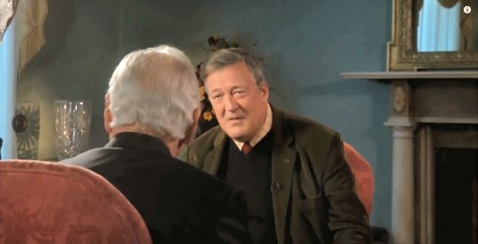 Stephen Fry Interview