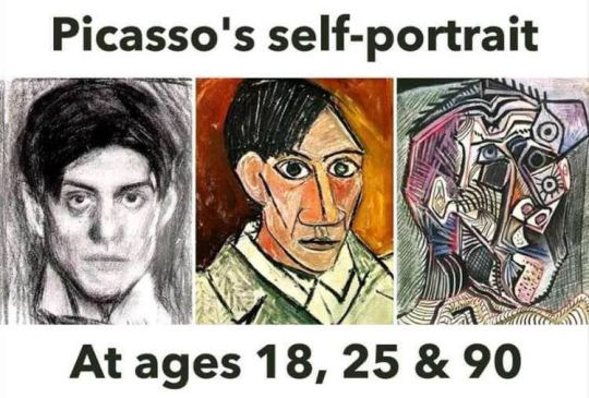 Picasso Self-Portaits FB-1