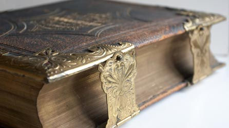Bible, Side View